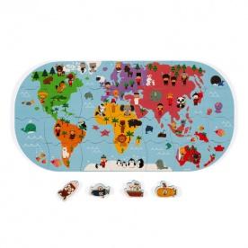 Puzzle Carte des Explorateurs du Bain - JANOD