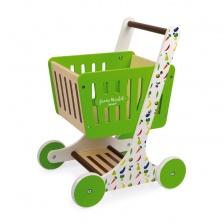 Chariot de Courses Green Market (bois) - JANOD