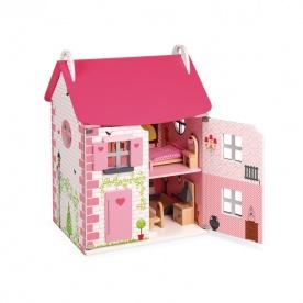 Maison de Poupées Mademoiselle (bois) - JANOD