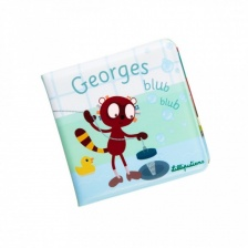 Blub blub Livre de bain Georges - LILLIPUTIENS