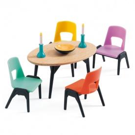 La salle à manger - DJECO